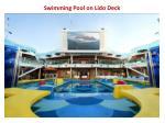 swimming pool on lido deck