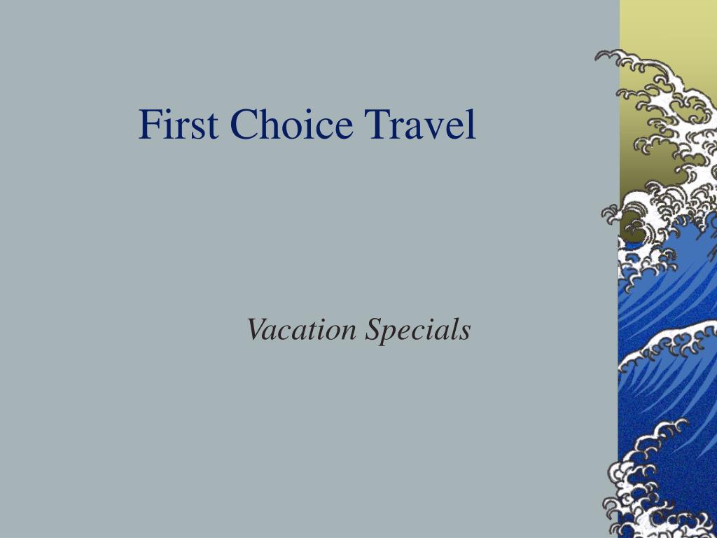 first choice travel l.
