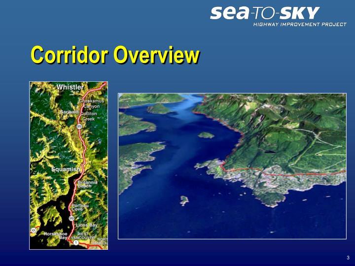 Corridor overview