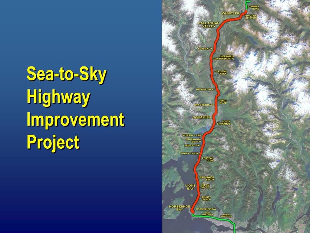 Sea-to-Sky Highway Improvement Project
