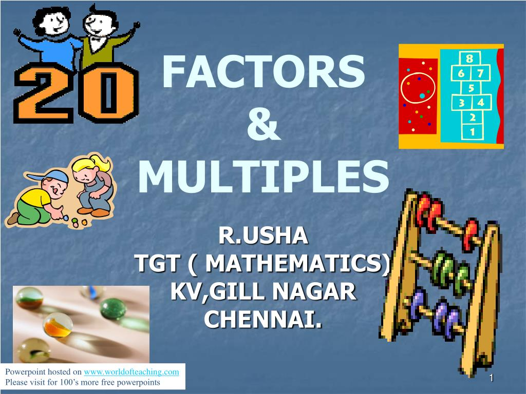 factors multiples l.