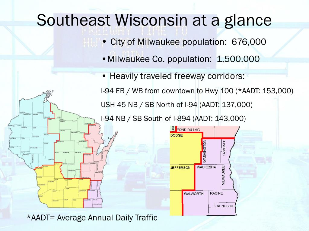 Southeast Wisconsin at a glance
