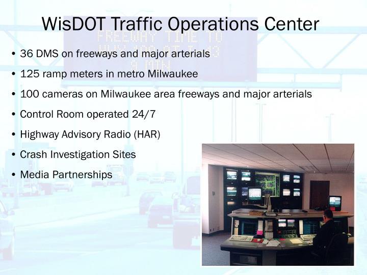 Wisdot traffic operations center