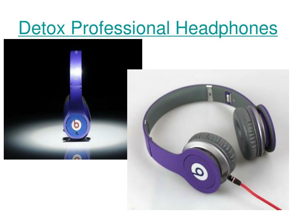 detox professional headphones l.