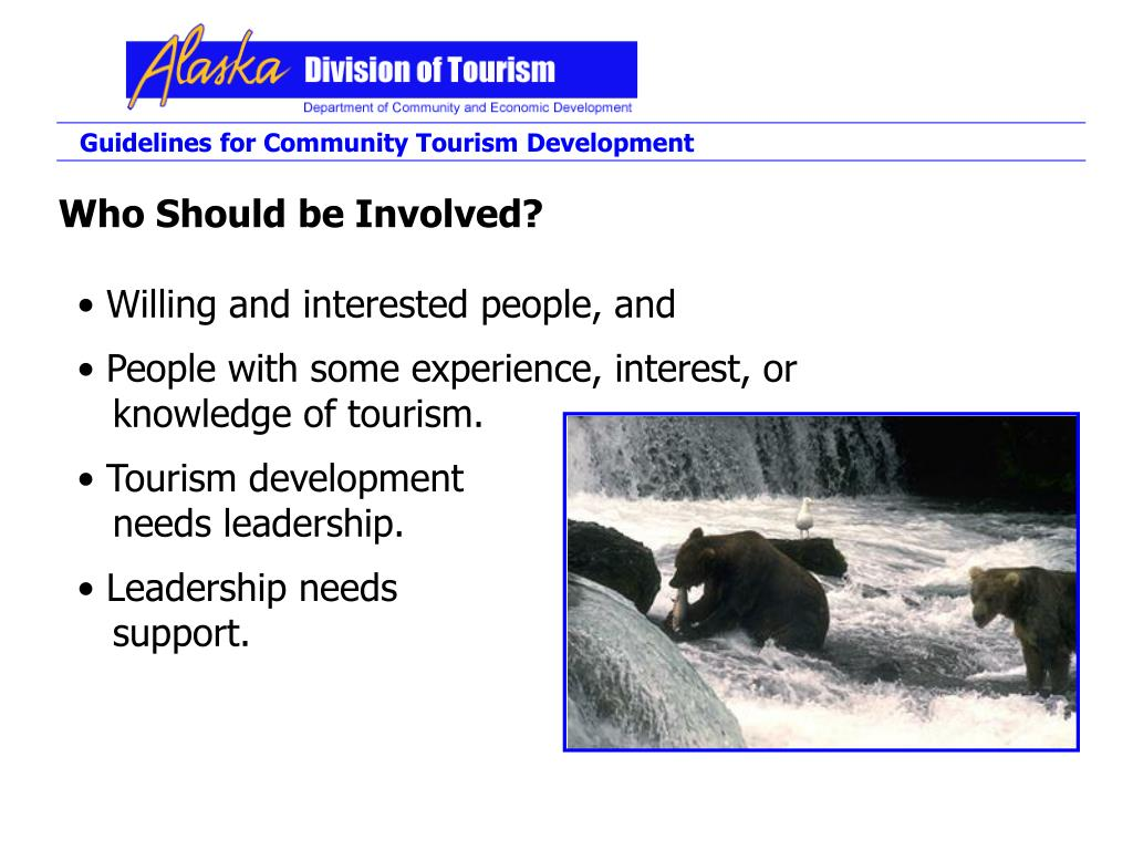 Guidelines for Community Tourism Development
