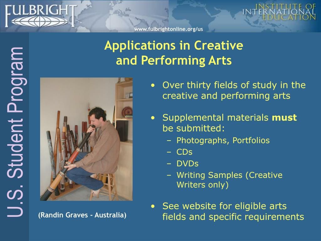 Applications in Creative