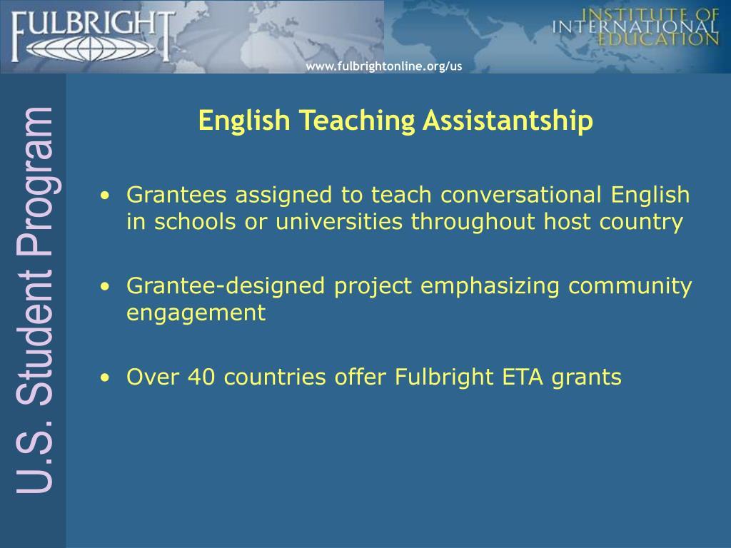 English Teaching Assistantship
