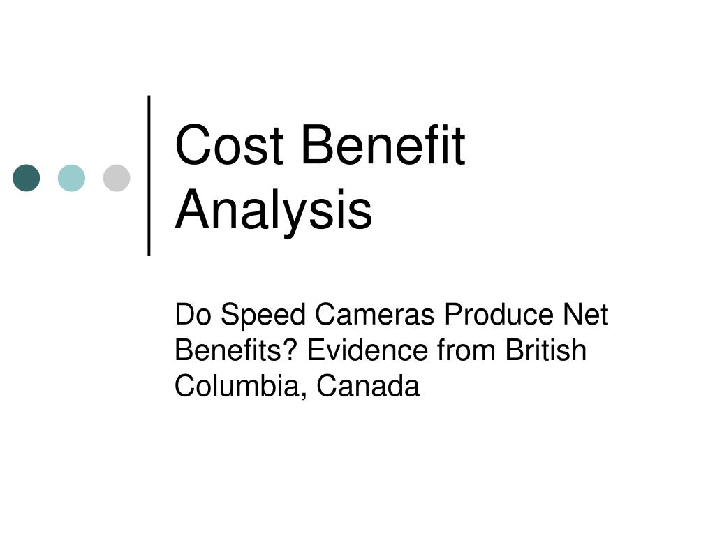 cost benefit analysis l.