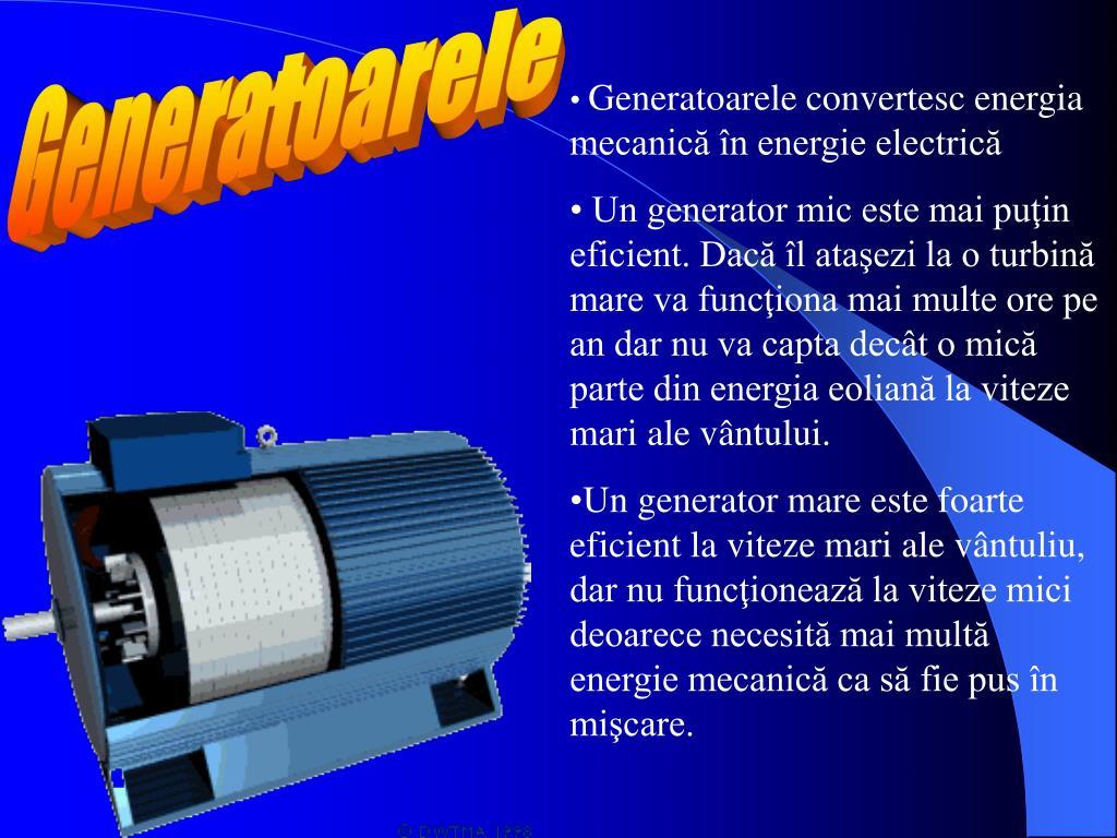 Generatoarele
