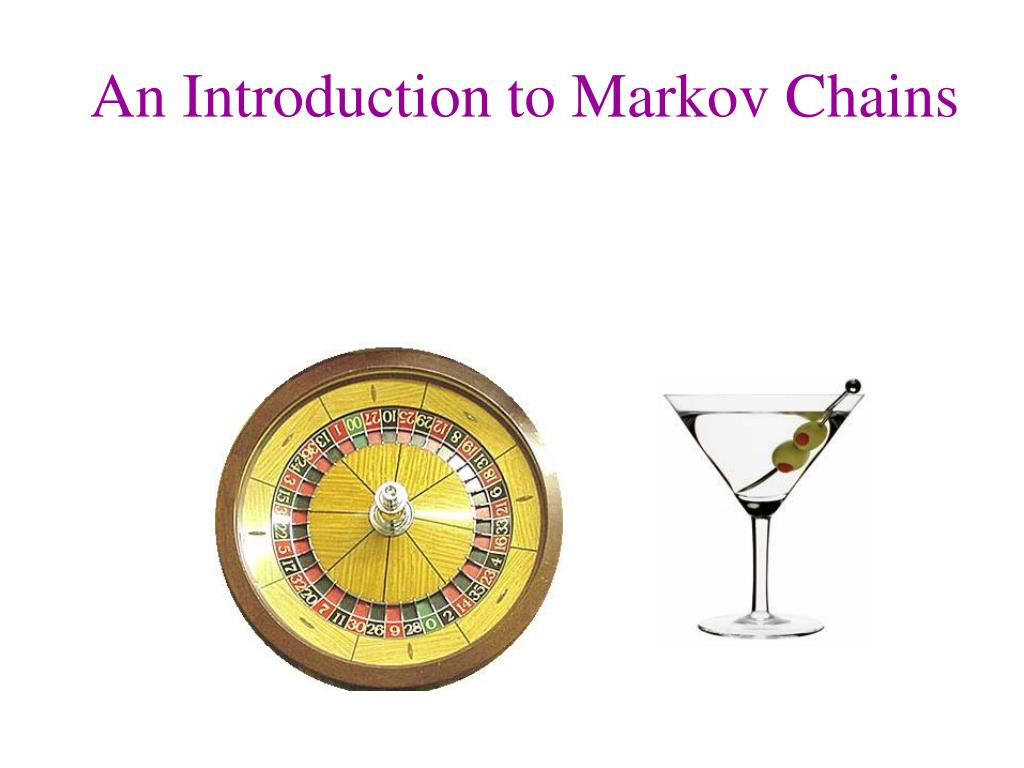 an introduction to markov chains l.