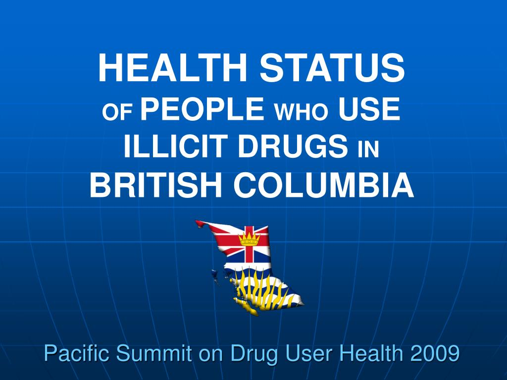 pacific summit on drug user health 2009 l.