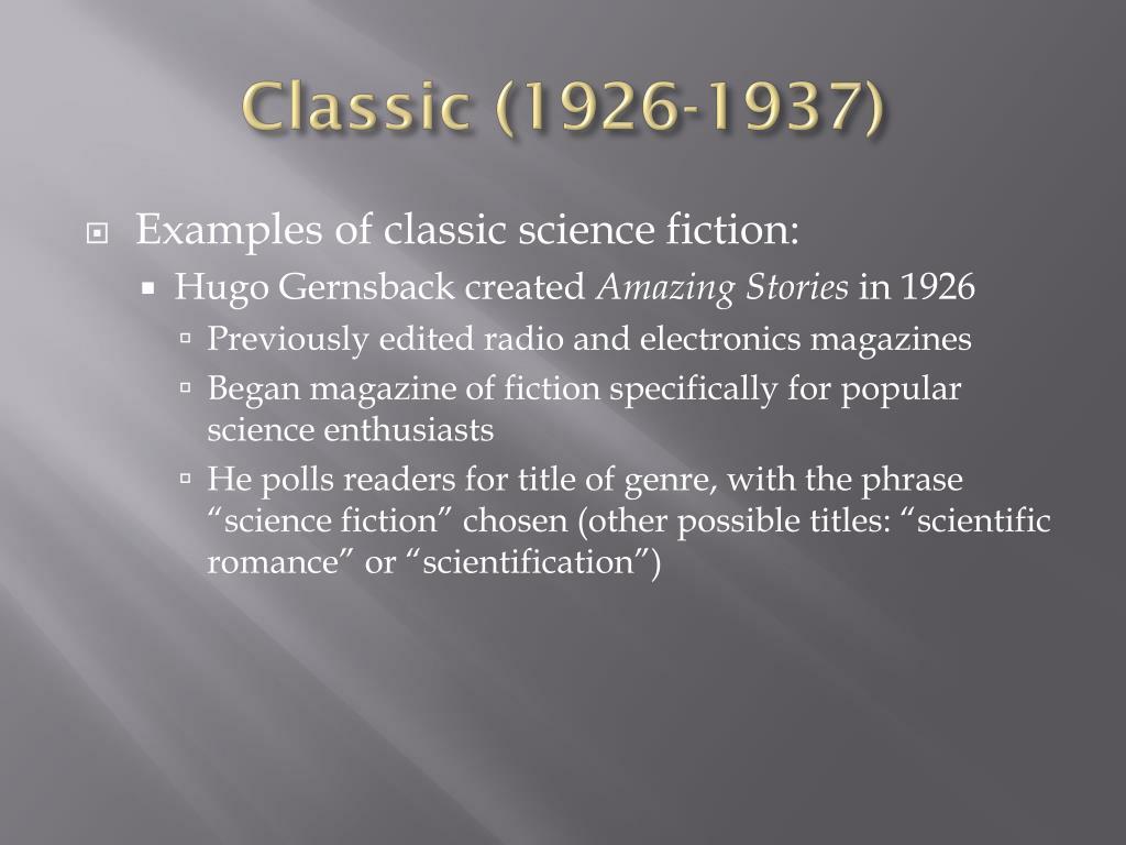 Classic (1926-1937)