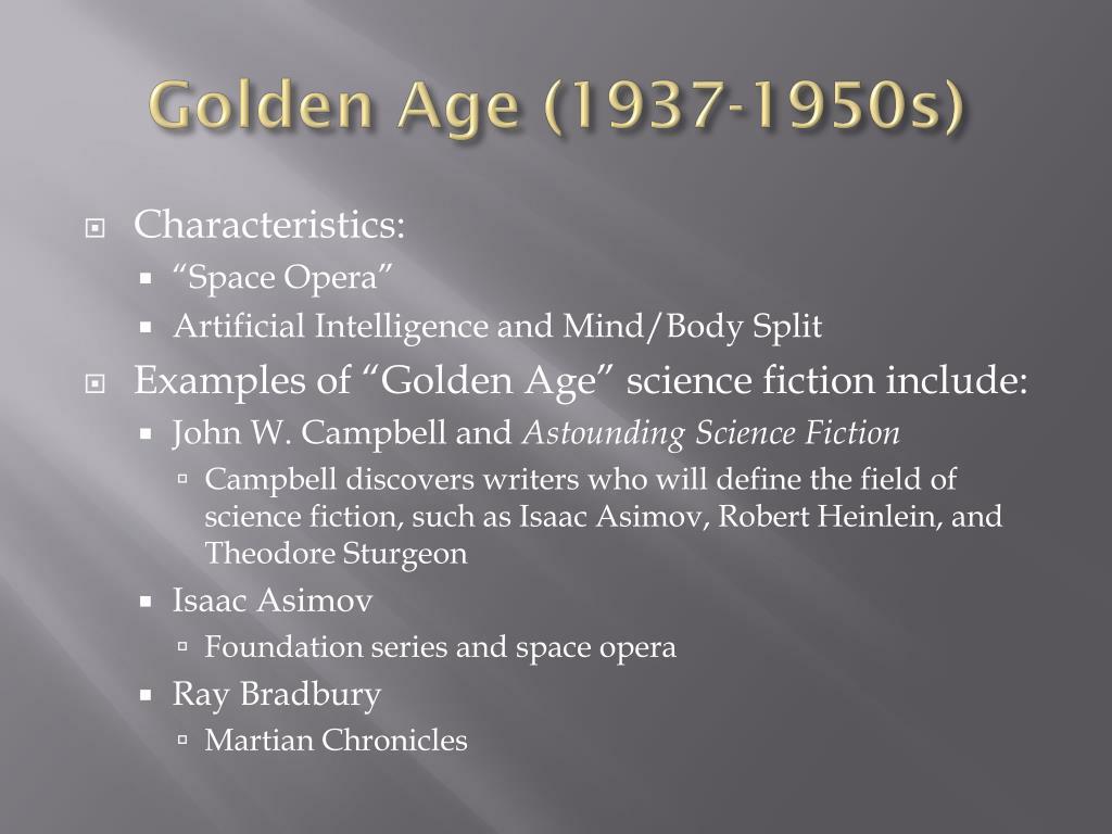Golden Age (1937-1950s)