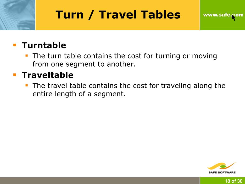 Turn / Travel Tables