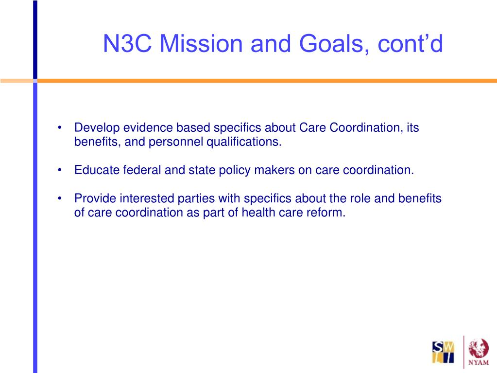 Develop evidence based specifics about Care Coordination, its benefits, and personnel qualifications.
