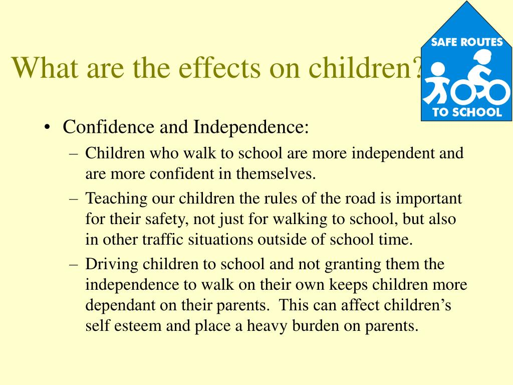 What are the effects on children?