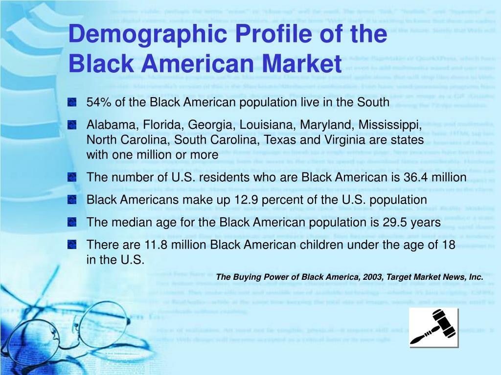 Demographic Profile of the