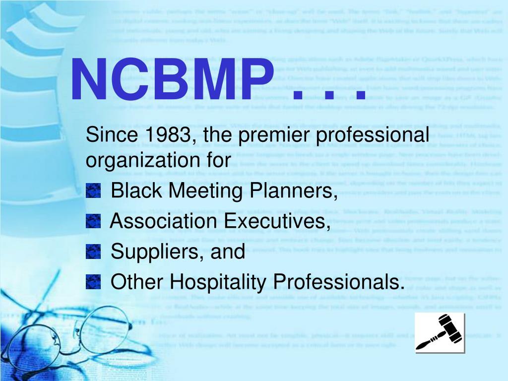 NCBMP . . .