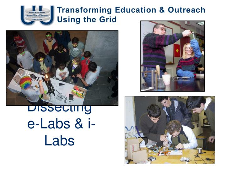 dissecting e labs i labs n.