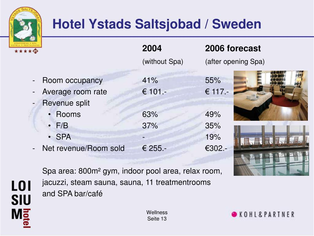 Hotel Ystads Saltsjobad / Sweden