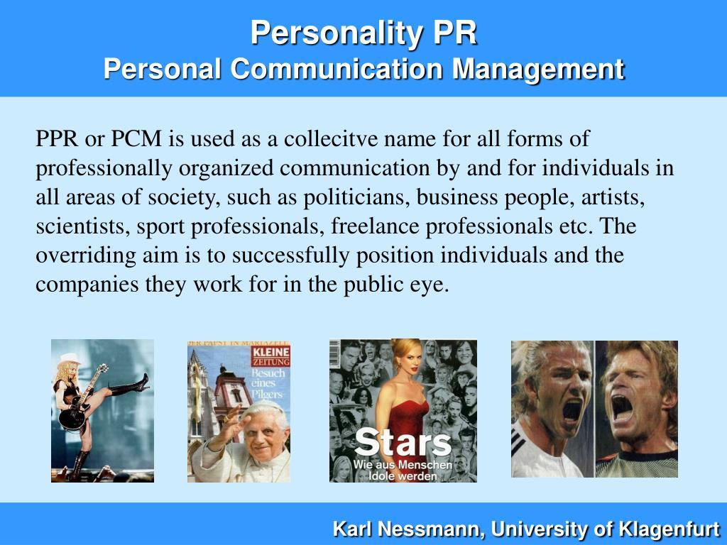 Personality PR