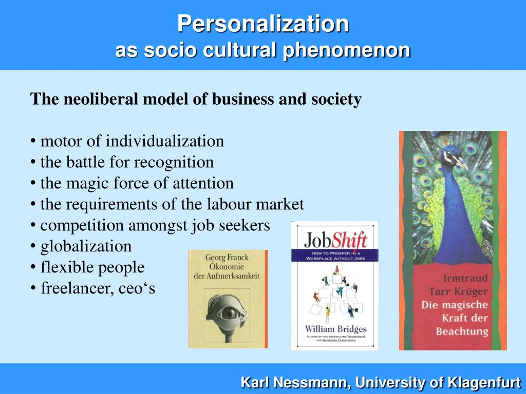 The neoliberal model of business and society