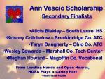 ann vescio scholarship123