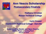 ann vescio scholarship125