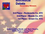 biomedical debate88