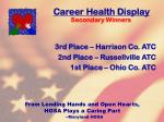 career health display85
