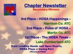 chapter newsletter113