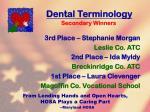 dental terminology10