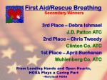 first aid rescue breathing48