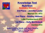 knowledge test nutrition24