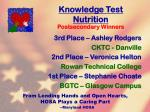 knowledge test nutrition25