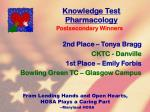 knowledge test pharmacology34