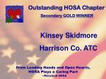outstanding hosa chapter110