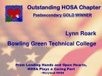 outstanding hosa chapter111