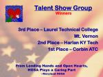 talent show group