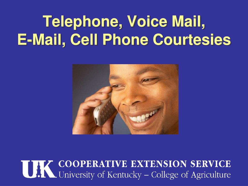 Telephone, Voice Mail,