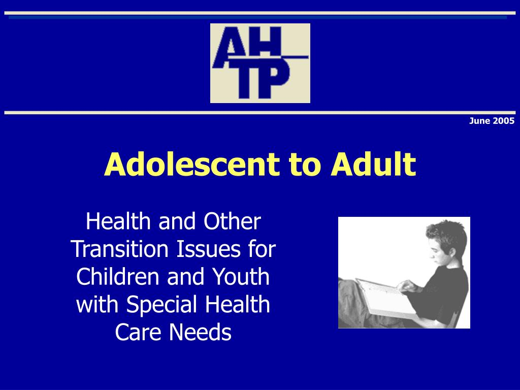 my transition to adulthood being the youngest of my parents four children Why a transition plan transition services for children with disabilities may it also provided some time for the young adult to prepare for what he or she was.
