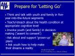 prepare for letting go37