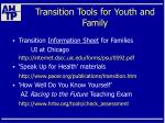 transition tools for youth and family47