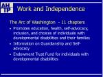 work and independence59