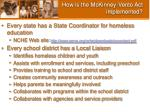 how is the mckinney vento act implemented