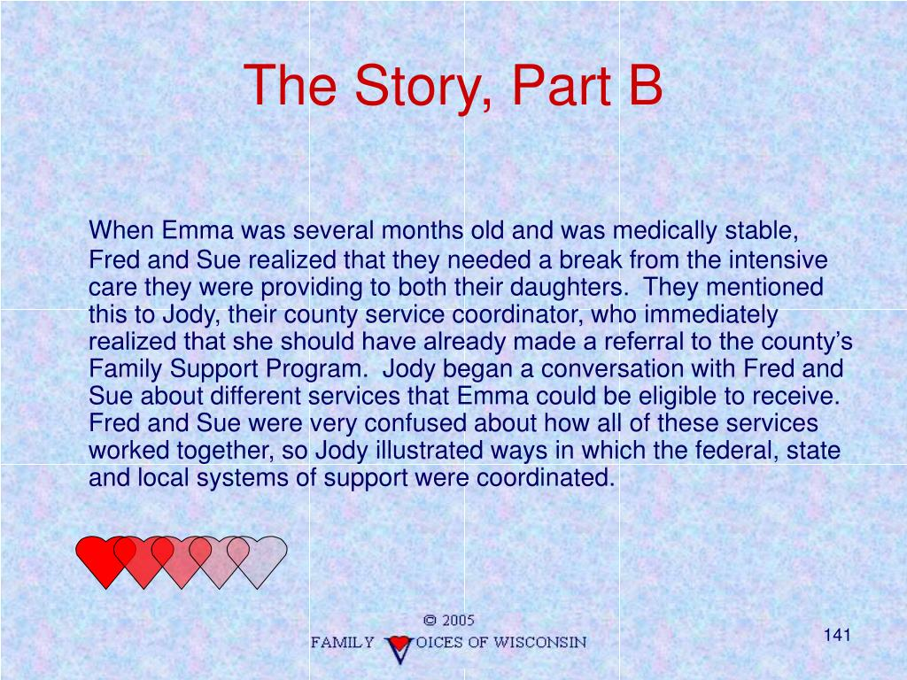 The Story, Part B