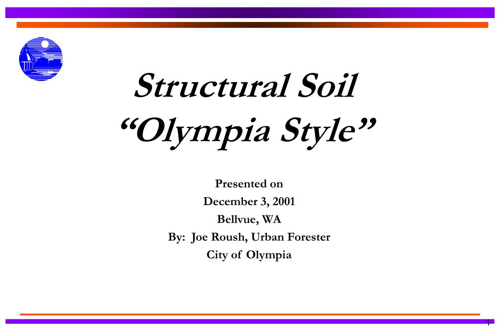 structural soil olympia style l.