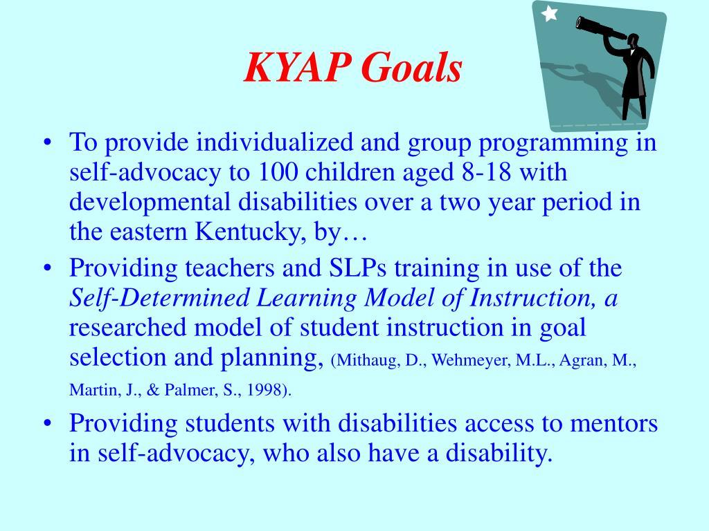 KYAP Goals