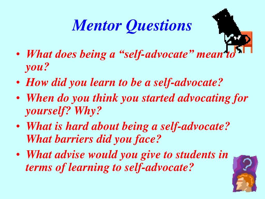 Mentor Questions