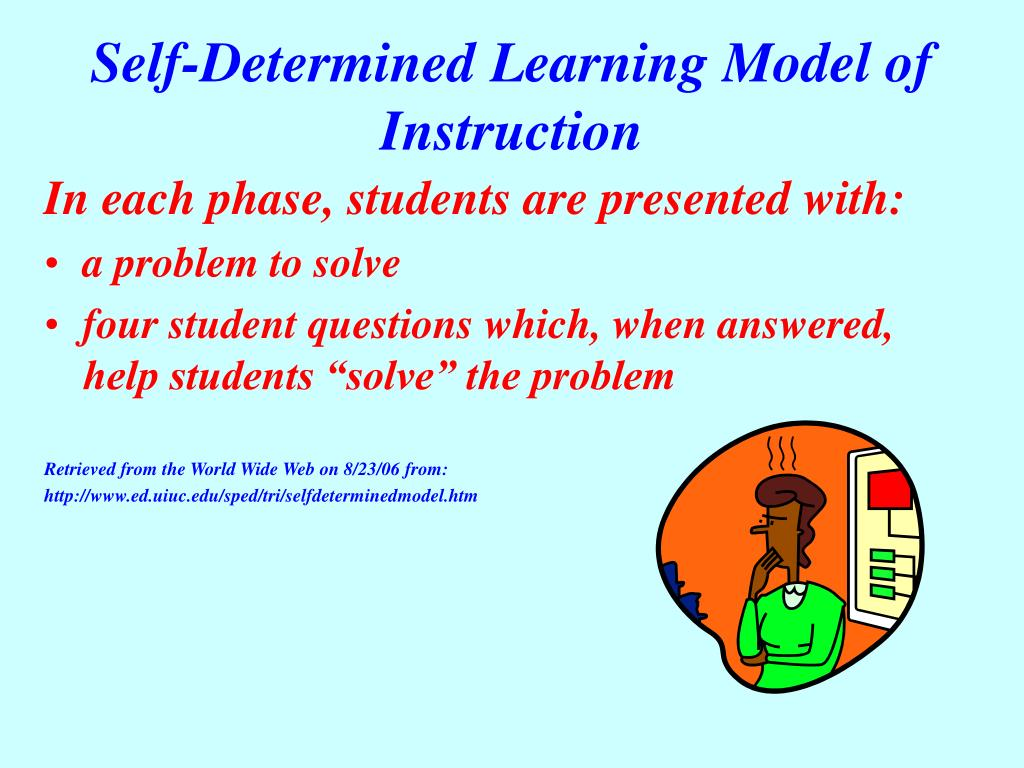 Self-Determined Learning Model of Instruction